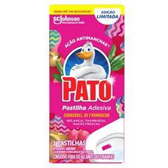 Pato Pastilha Adesiva Carrossel de Framboesa com 3 unidades