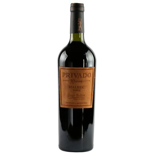 Vinho Argentino Jorge Rubio Privado Reserva Malbec 750ml