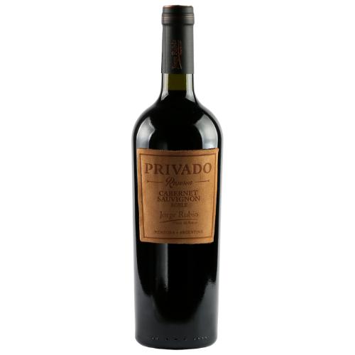 Vinho Argentino Jorge Rubio Privado Reserva Cabernet Sauvignon 750ml