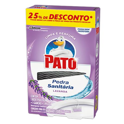 Pedra Sanitária Pato Lavanda om 25% de Desconto