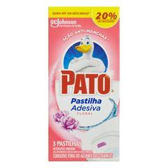 Pr Pato Pastilha Floral com 3 unidades