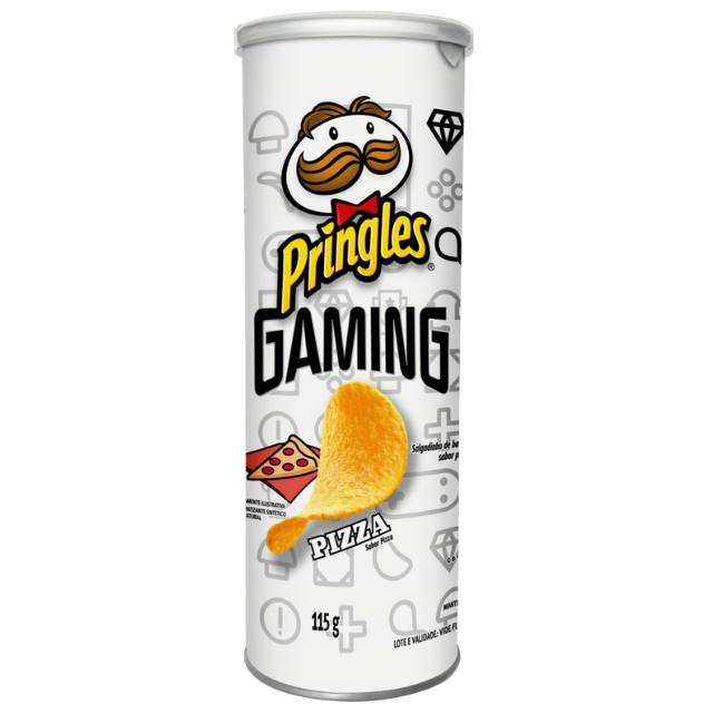 Batata Pringles Sabor Pizza 115g
