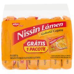Nissin Lamen Galinha Caipira - Leve 6 Pague 5 - 510g