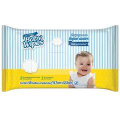 Toalha Umedecida Baby Wipes com 48