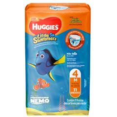 Fralda Huggies Little Swimmers Pants M com 11 unidades