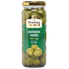 Azeitona Verde com Caroço Fazenda Sedrez 200g