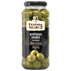 Azeitona Verde com Caroço Premium Fazenda Sedrez 330g