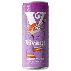 Vinho Vivant Tinto Lata Pack c/4