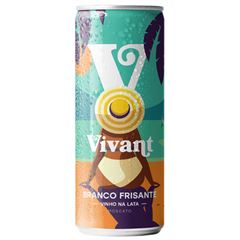 Vinho Frisante Vivant Moscato lt Pack c/4