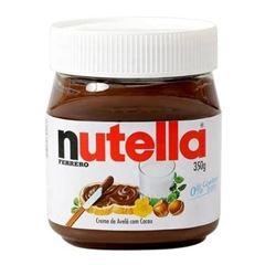 Nutella Embalagem de Vidro 350g