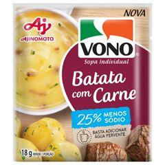Sopa Vono Batata com Carne -Sódio 18g