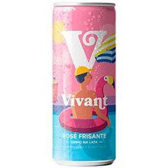 Vinho Frisante Vivant Rose  lt Pack c/4