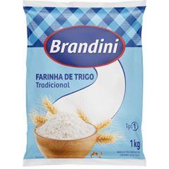 Farinha de Trigo Brandini sem Fermento 1kg