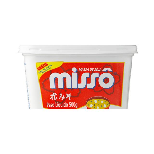 Massa de Soja Missô Aka Pote 500g