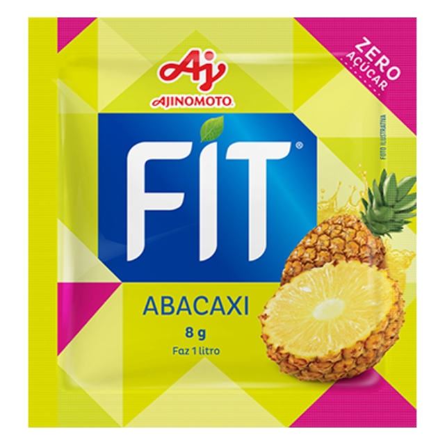 Refresco FIT Diet Abacaxi