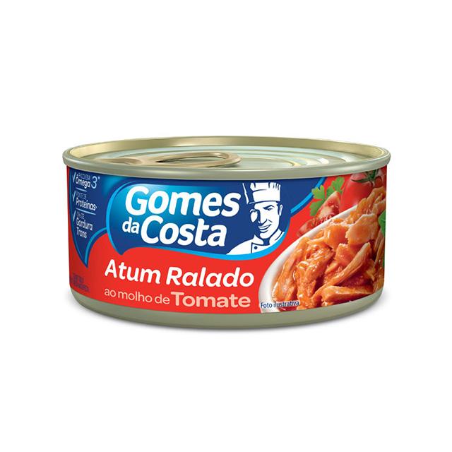 Atum Ralado ao Molho de Tomate Gomes da Costa 170g