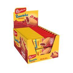 Barra de Biscoito Maxi Bauducco Goiabinha 30g Display com 20 unidades