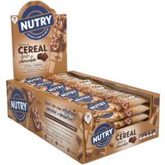 Barra de Cereal Nutry Bolo de Chocolate 22g - Display com 24 und