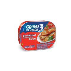 Sardinhas com Molho de Tomate Gomes da Costa 250g