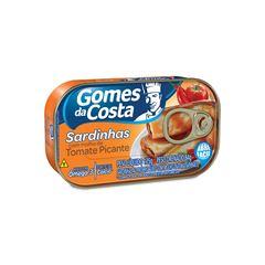 Sardinha com Molho de Tomate Picante Gomes da Costa 125g