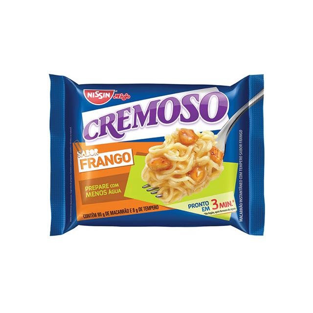 Nissin Lamen Cremoso Frango