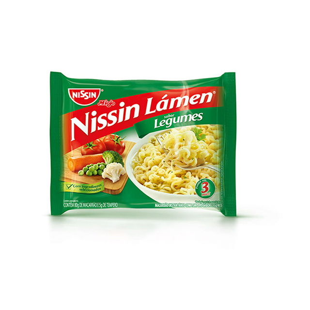 Nissin Lamen Legumes 85g