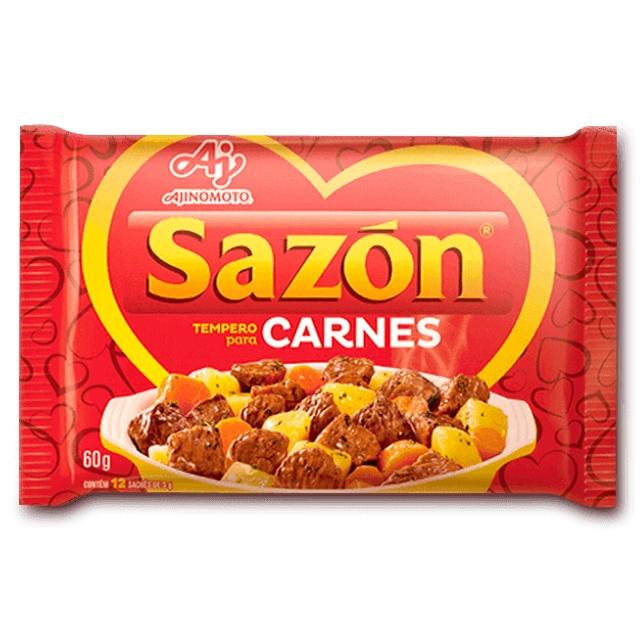 Tempero Sazon para Carnes 60g