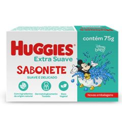 Sabonete Barra Huggies Extra Suave 75g