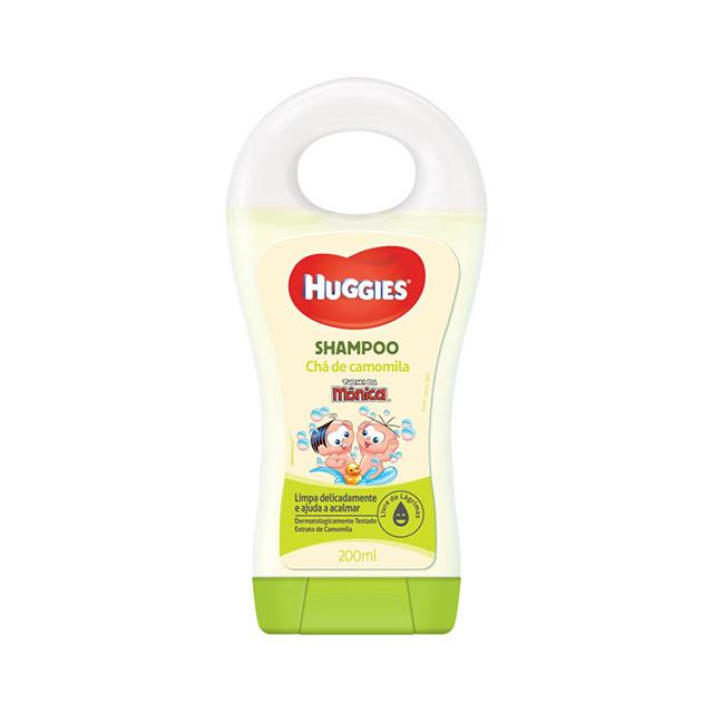 Shampoo Huggies Turma da Monica Chá de Camomila 200 ml