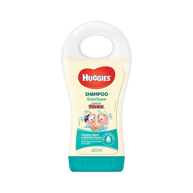Shampoo Huggies Turma da Monica Extra Suave 200 ml