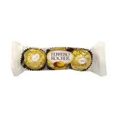 Bombons Ferrero Rocher com 3 und