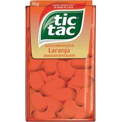 Tic Tac Laranja 16g - Atado com 14 unidades