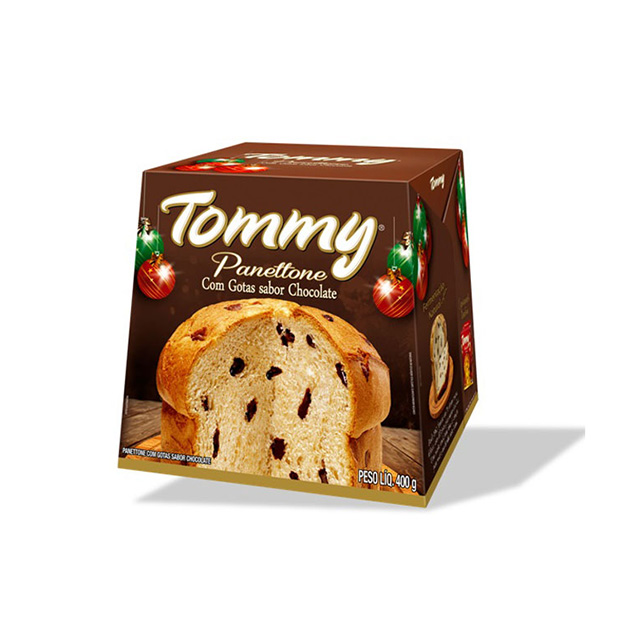 Panettone Tommy Gotas Chocolate 400g