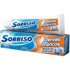 Creme Dental Sorriso Dentes Brancos 50g