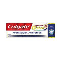 Creme Dental Colgate Total 12 Professional White 70g