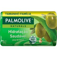 Sabonete Barra Palmolive Suave Aloe e Oliva 150g