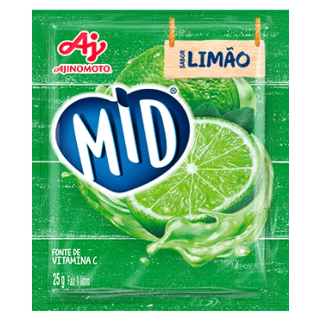 Refresco MID Limão 25g