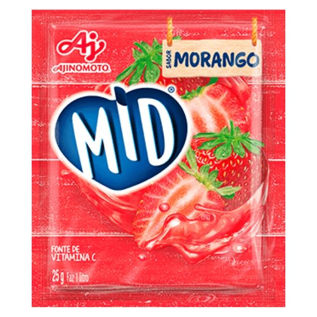 Refresco MID Morango 25g