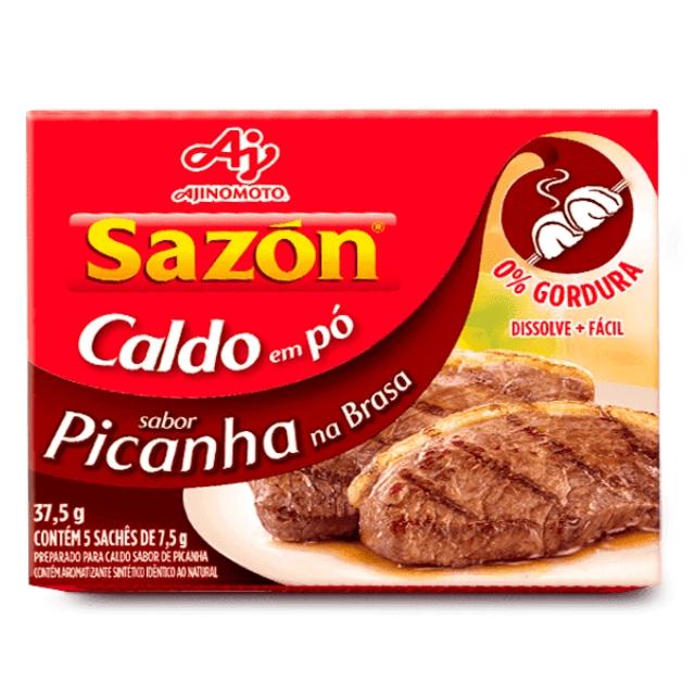 Caldo Sazon Picanha 37,5g
