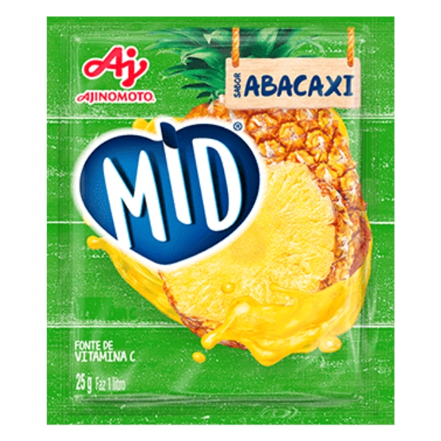 Refresco MID Abacaxi 25g
