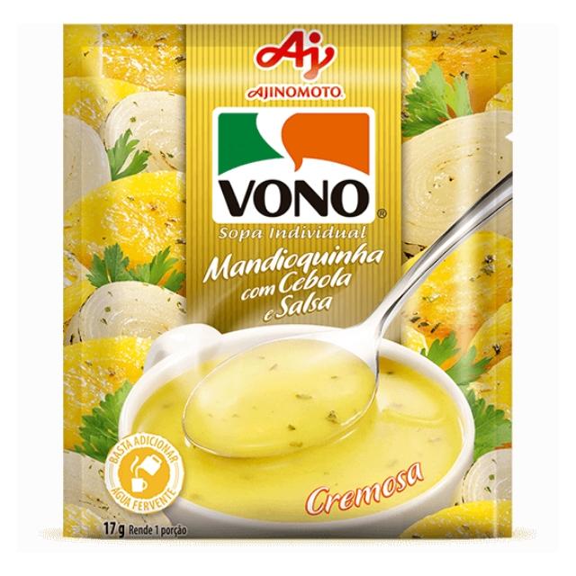 Sopa Vono Mandioquinha com Cebola e Salsa 18g