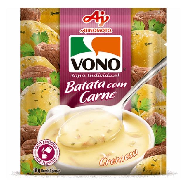 Sopa Vono Batata com Carne 18g