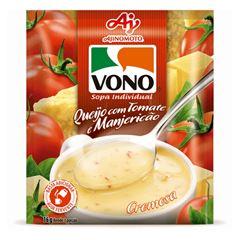 Sopa Vono Queijo com Tomate e Manjericão