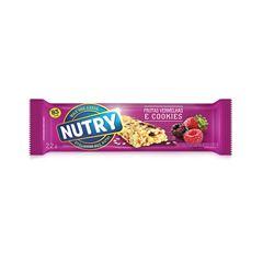 Barra de Cereal Nutry Frutas Vermelhas 22g - Display com 24 und