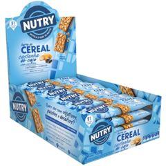 Barra de Cereal Nutry Castanha de Caju com Chocolate 22g - Display com 24 und