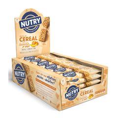Barra de Cereal Nutry, Aveia e Mel 22g - Display com 24 und