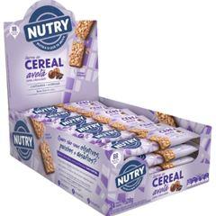 Barra de Cereal Nutry Avelã com Chocolate 22g - Display com 24 und