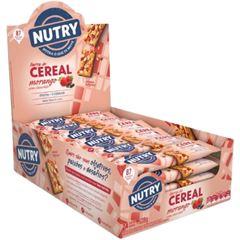 Barra de Cereal Nutry Morango com Chocolate 22g - Display com 24 und