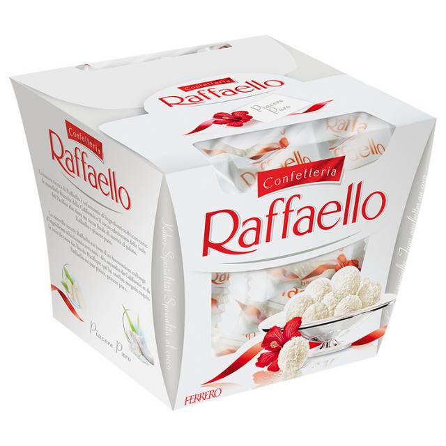 Bombom Ferrero Raffaello Display c/15 150g