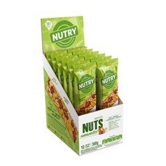 Barra Nuts Nutry Sementes 30g - Display com 12 und